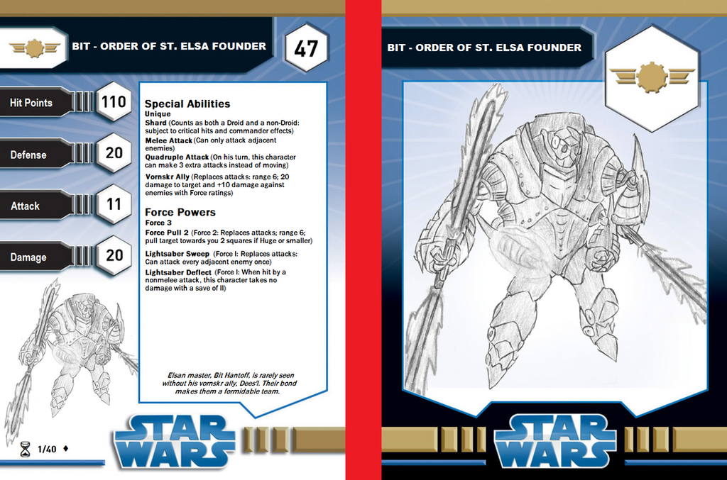 Bit - Order of St. Elsa Founder character card by Riptor25