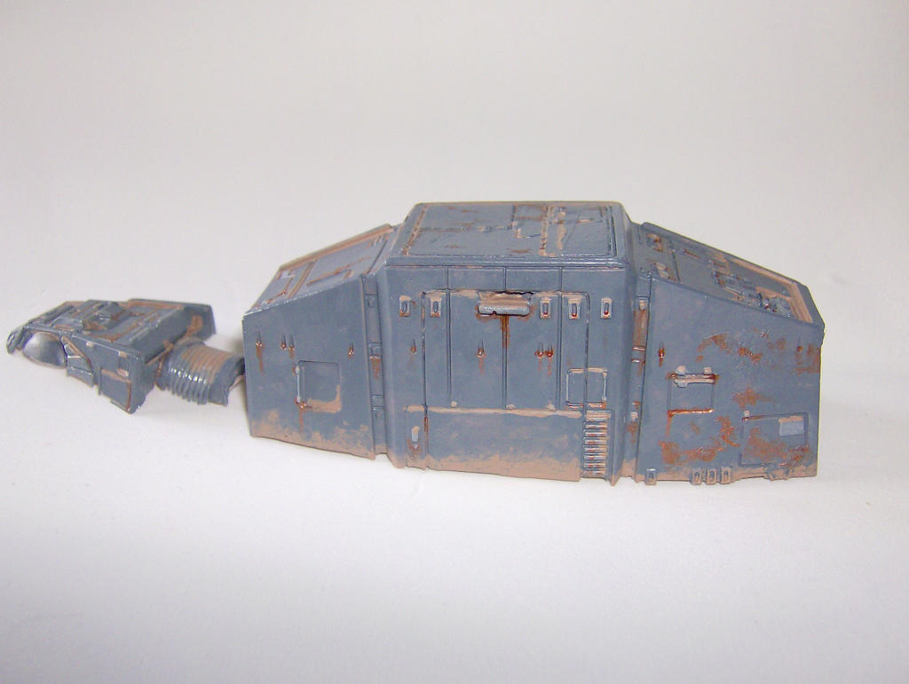 Wrecked AT-AT Model by Riptor25