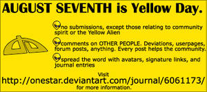 Yellow Day Info