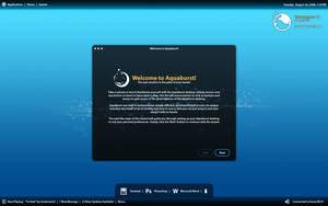 Aquaburst Desktop by rinishak