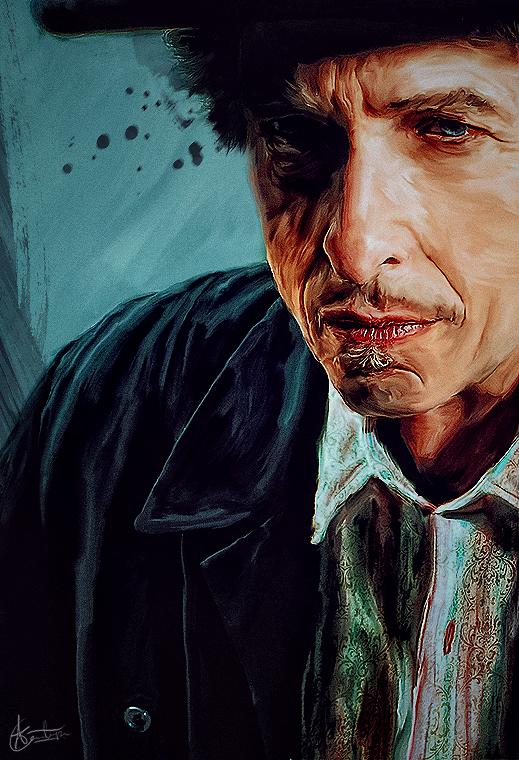 Bob Dylan by Ohitspixel