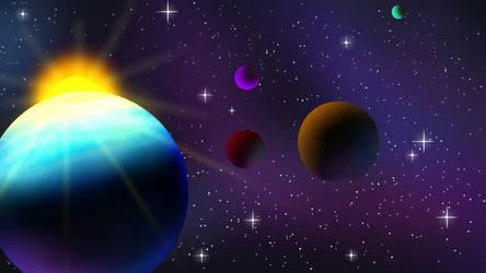 Universe(versinsister) by ButtonDash