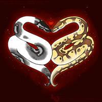 Ball Python Love by Dachindae