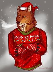 Werewolf Christmas by Dachindae