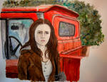 Bella and her truck by wiegand90