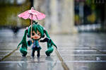 Bigger umbrella.