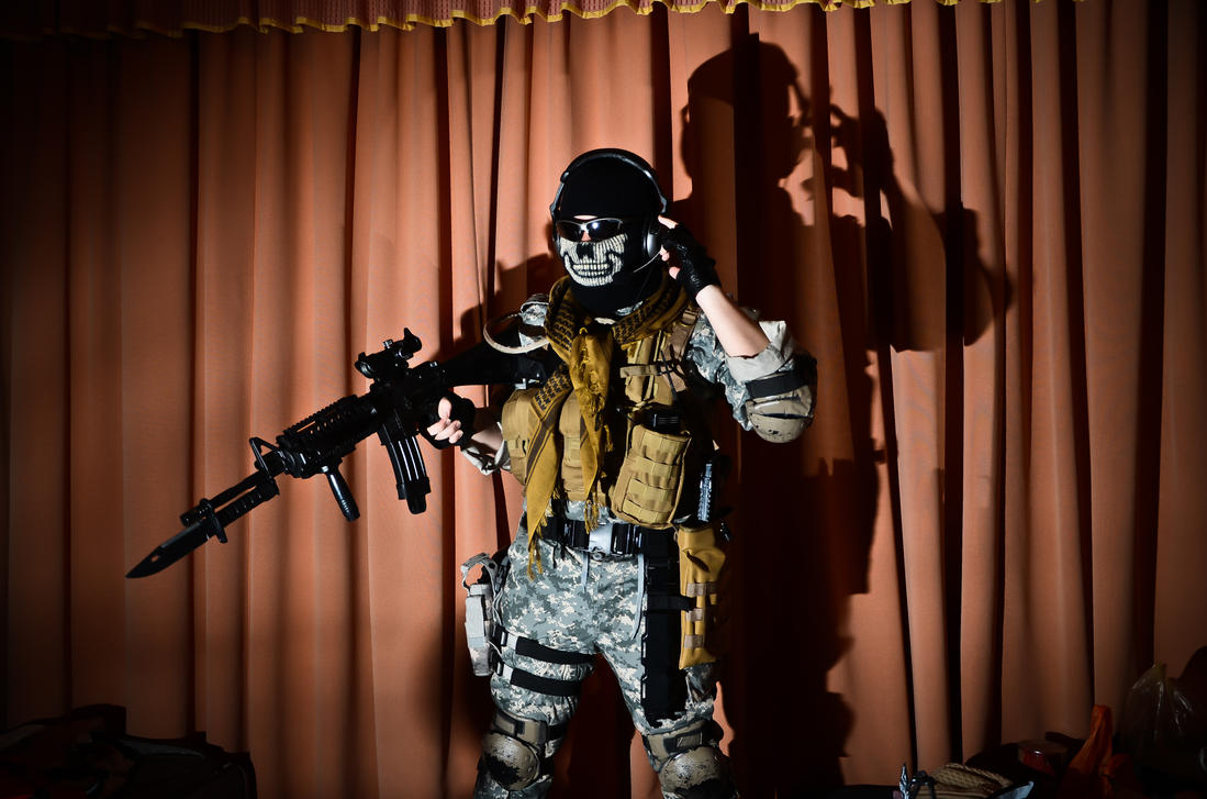 Ghost mw2 cosplay by thechevaliere