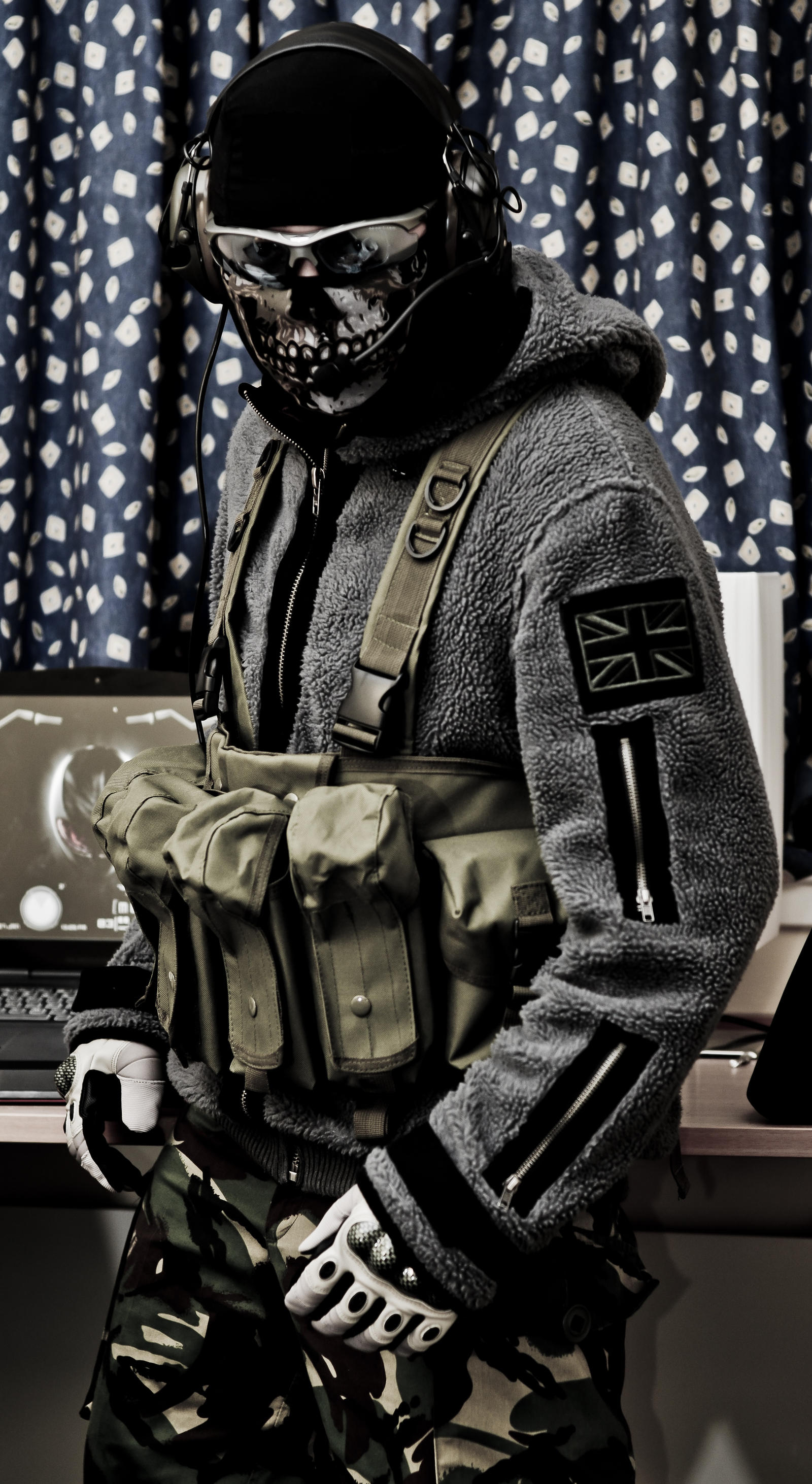 MW2 Ghost Final Estate Gear Update by thechevaliere on DeviantArt