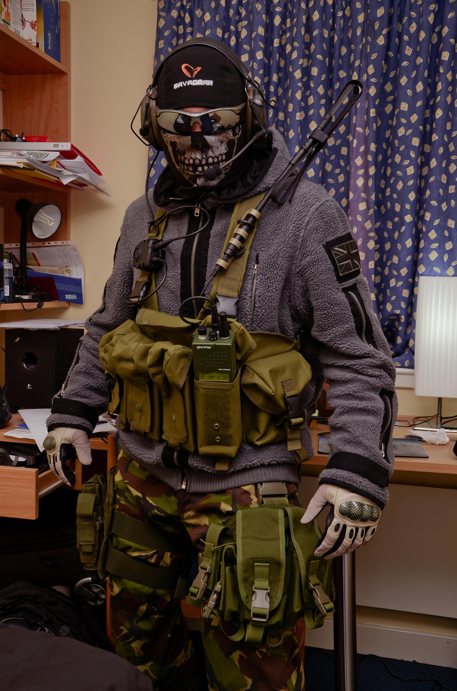 Ghost MW2 Cosplay by thechevaliere on DeviantArt