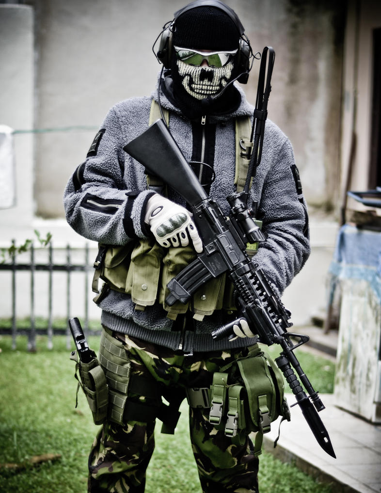 Ghost Mw3 Mask