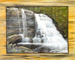 Swallow Falls Series #2 by angelahedderick