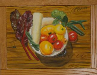 Summer Vegetable by angelahedderick
