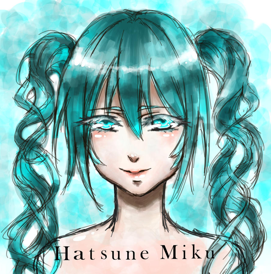 Hatsune Miku by BlackBird321