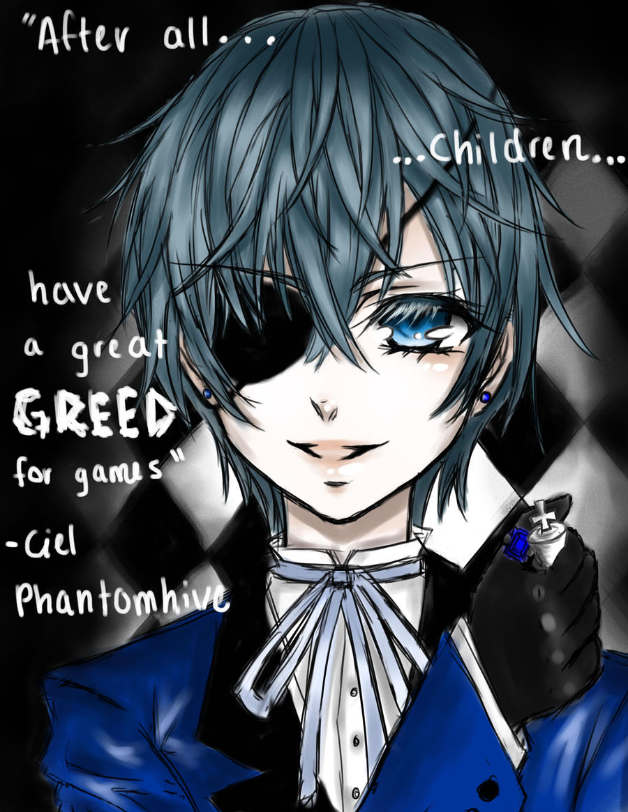 Black Butler - Ciel - Games by BlackBird321