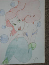 The little mermaid by Larnie