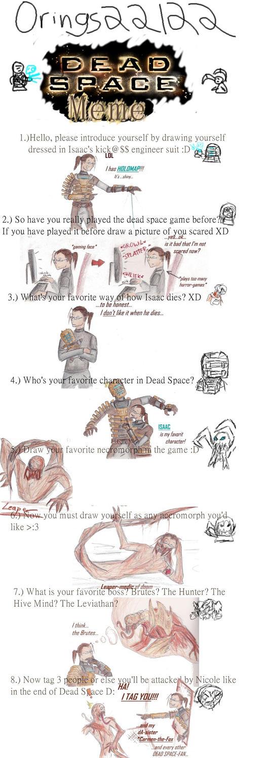 DEAD SPACE MEME by killermedic