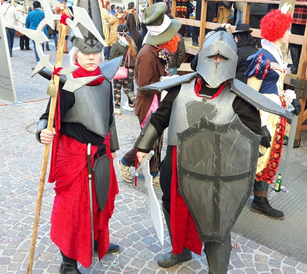 Fasching 2017 Knight and Mage by killermedic