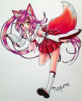 Foxy foxy by naru0-0