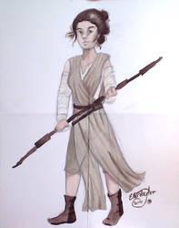 Rey! by amaliaseven