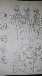 Court Records OC 2015 sketch 2 by Dafterthebigdrawer