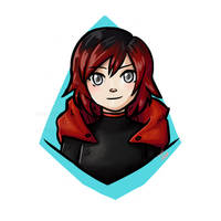 RWBY/ Ruby Rose / FanArt by Dafterthebigdrawer