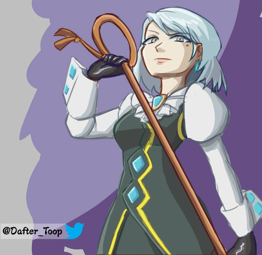 Franziska VonKarma, Ace Attorney Justice for all, by Dafterthebigdrawer