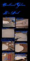 Cardboard Gibson Les Paul by MarmaladeHearts