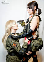 Time Paradox - Sniper Wolf x Quiet Cosplay by AlexBlacklight