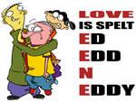 Love is spelt