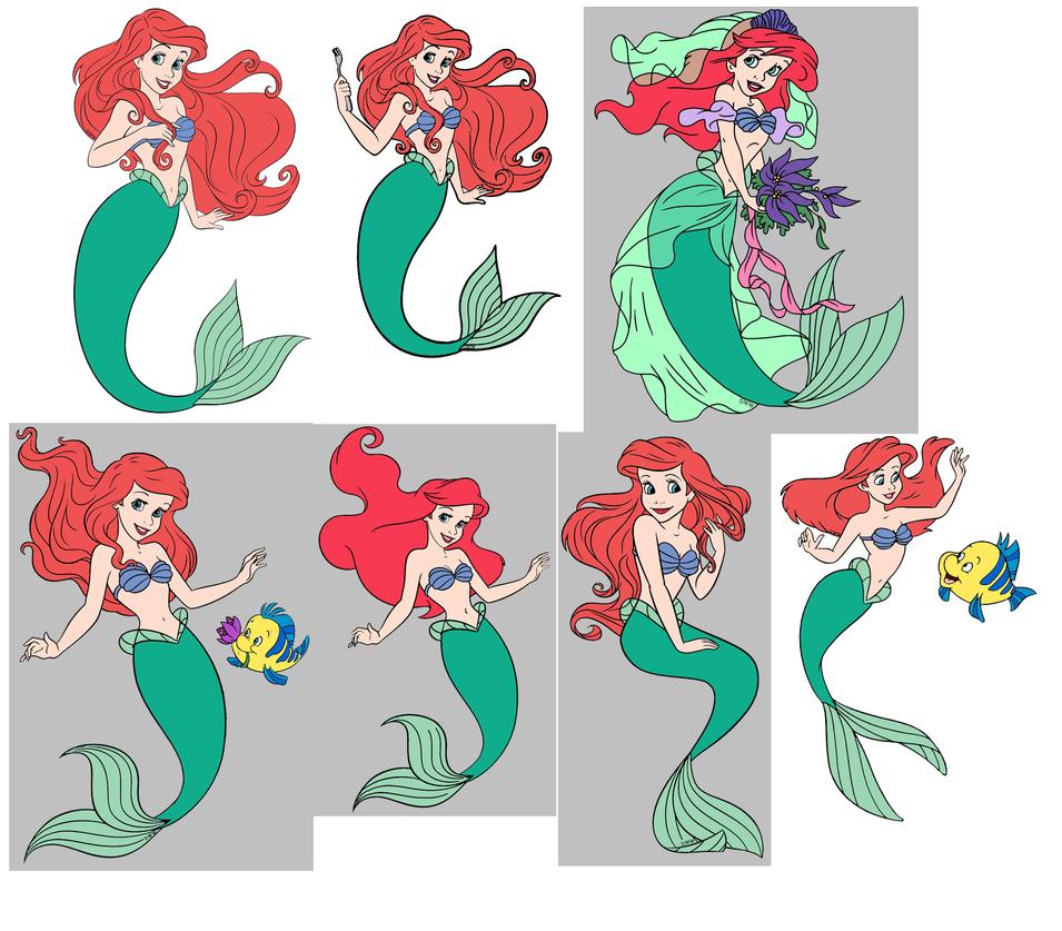 Princess Ariel cliparts by mermaidlover1992