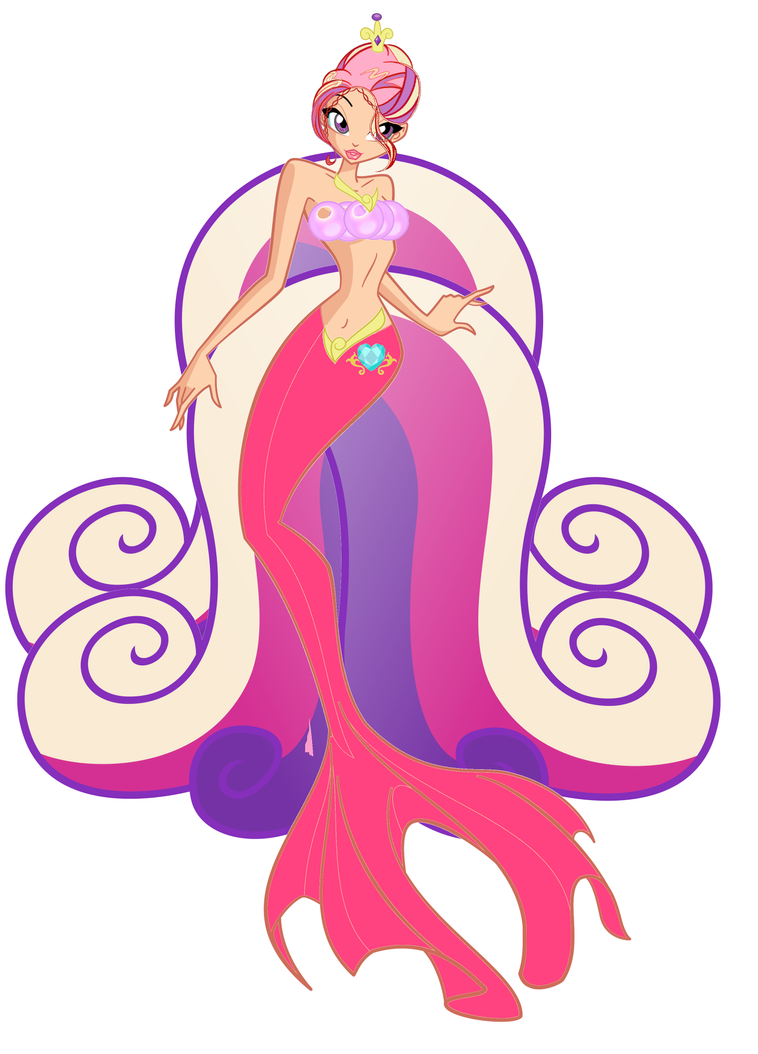 Princess Cadence Mermaid (my version) by mermaidlover1992