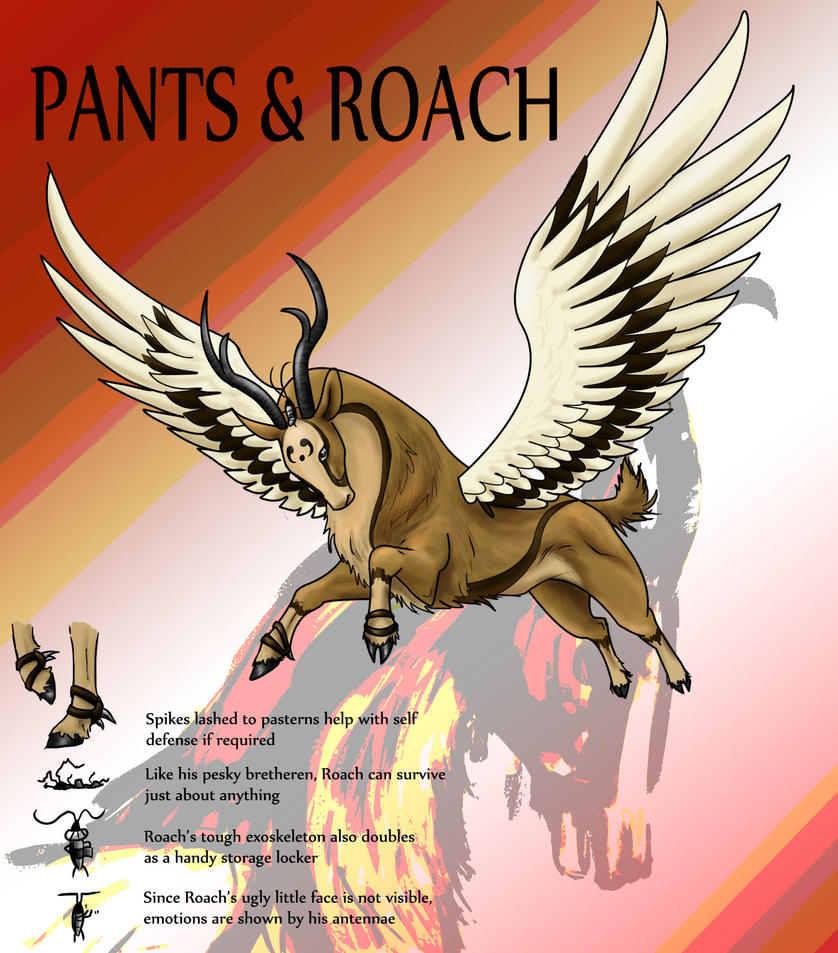 Pants n' Roach by sketchgoat