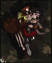 Steampunk Newlyweds v2 by Kayla-Na