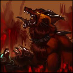 Demon's Howl by Kayla-Na