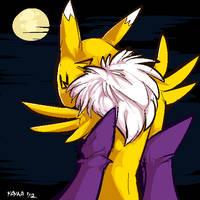 Renamon's Moon by Kayla-Na