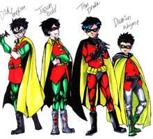 The Robins by Yoshiie