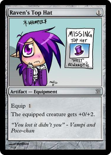 MtG: Raven's Top Hat by Overlord-J