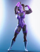 Luchadora by Superstrongbabes