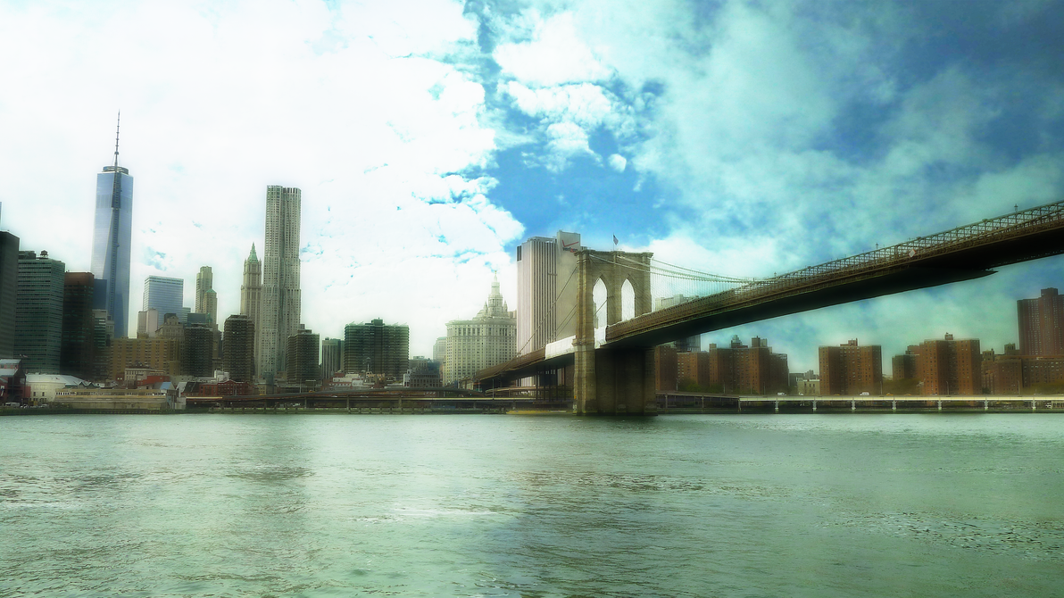Brooklyn bridge ny by mhyrtot on deviantart for Art and craft store in brooklyn ny