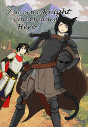 The Knight And Cheatless Hero Cover by sorenshadow