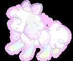 OPEN OTA offer to adopt Rainbow Sherbet Peeps by Dana-The-Cat