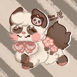 smiley face panda