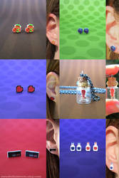 Legend of Zelda Set by instantpudding