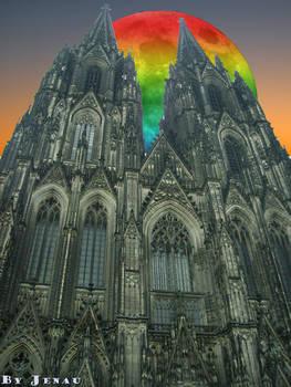 Dawn in Cologne