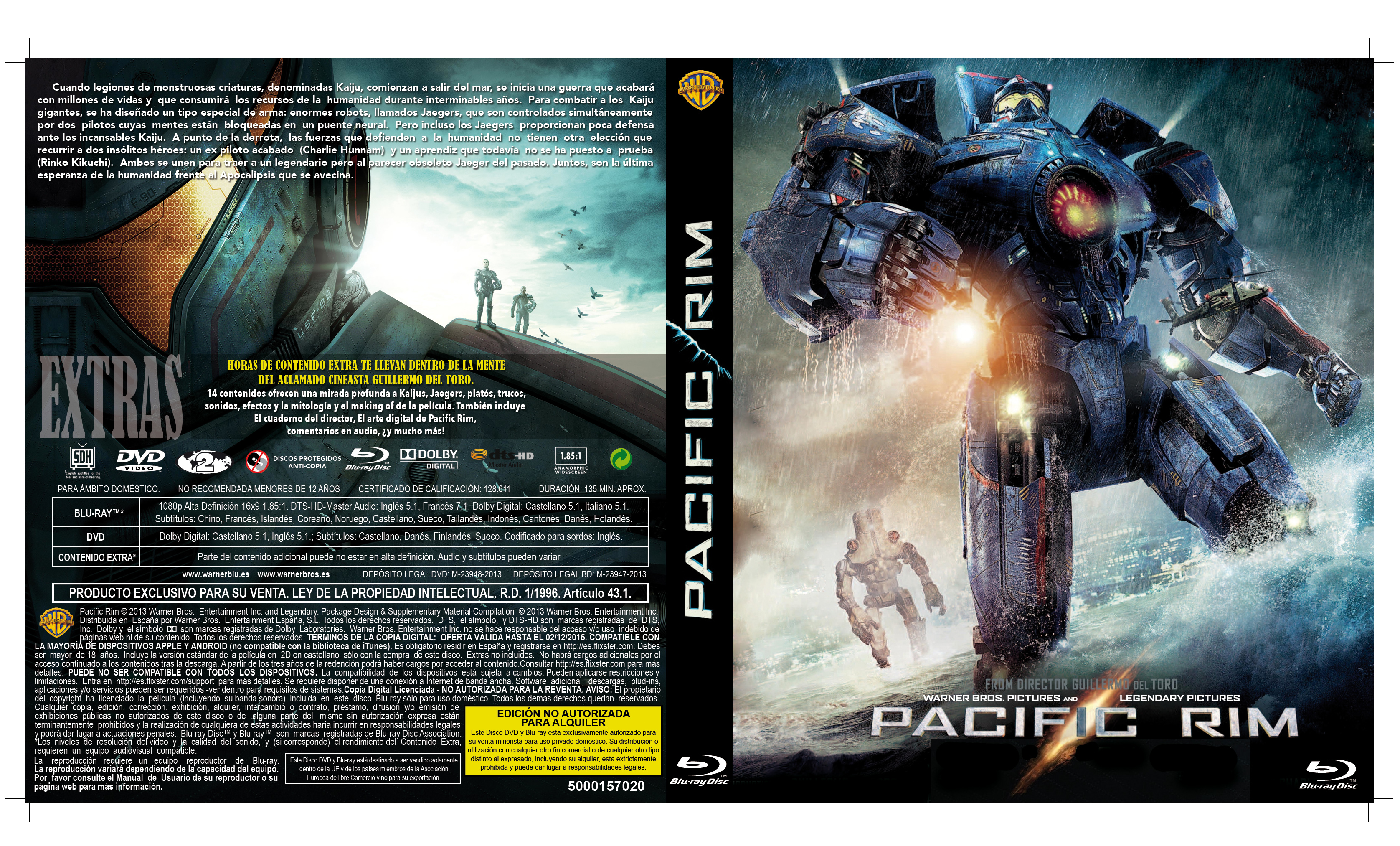 Custom covers - Página 154 Pacific Rim Dvd Cover Art
