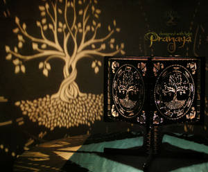 Pranaya Design Tree of Life Shadow Lamp Prototype