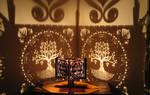 Pranaya Design: Tree of Life Shadow Lamp
