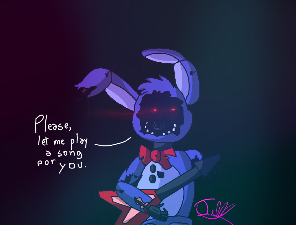 fnaf bonnie please let me play a song for you by julynnx on