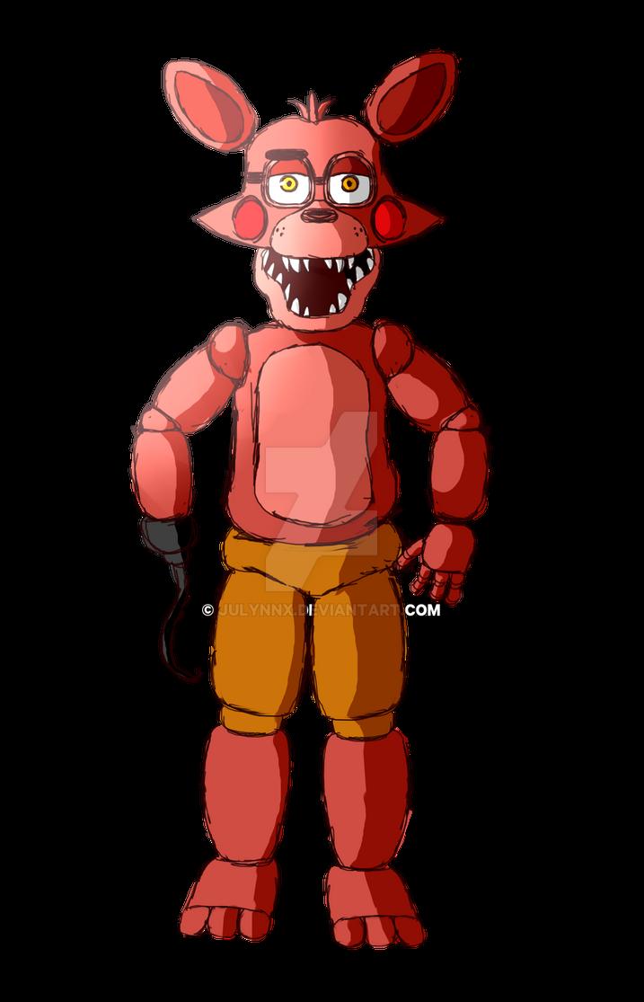 toy foxy by julynnx on deviantart