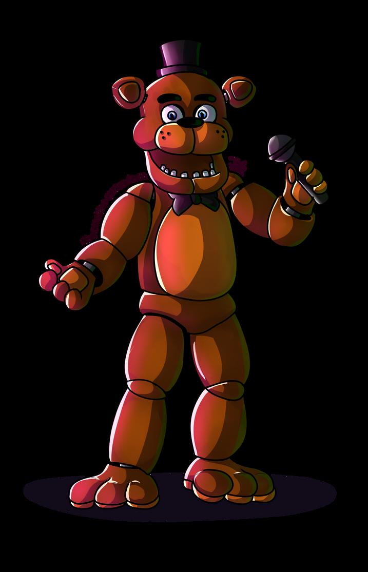 FNAF - Freddy Fazbear by ChocoWhite-QueenDuck